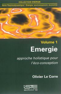 Emergie : approche holistique pour l'éco-conception