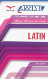 Dictionnaire latin-français, français-latin