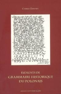 Eléments de grammaire historique du polonais