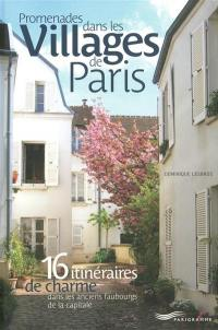 Promenades dans les villages de Paris