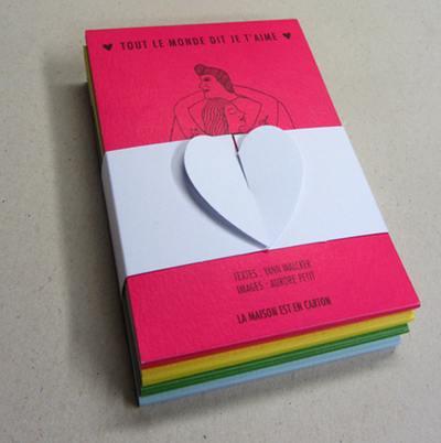 Tout le monde dit je t'aime : 40 personnages, 40 déclarations d'amour : recueil intégral