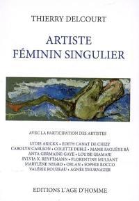 Artiste féminin singulier
