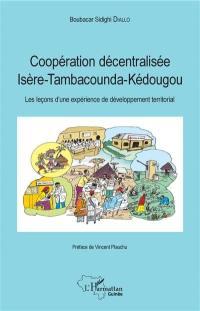 Coopération décentralisée Isère Tambacounda Kédougou : les leçons d'une expérience de développement territorial