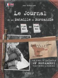 Le journal de la bataille de Normandie