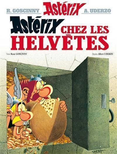 Une aventure d'Astérix. Volume 16, Astérix chez les Helvètes