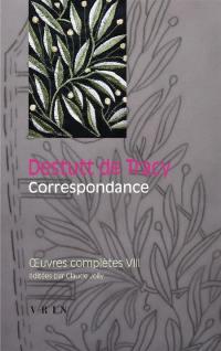 Oeuvres complètes. Volume 8, Correspondance