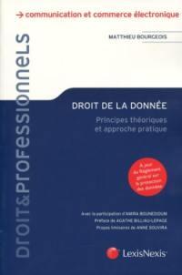 Droit de la donnée : principes théoriques et approche pratique