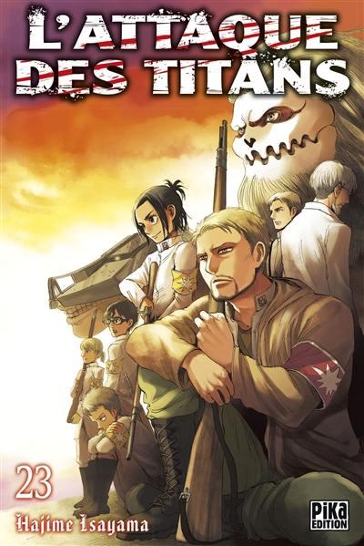 L'attaque des titans. Volume 23, L'attaque des titans