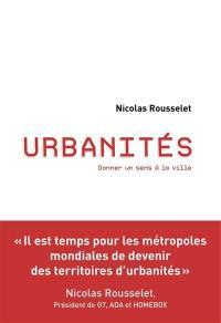 Urbanités