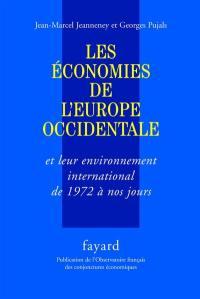 Les économies de l'Europe occidentale et leur environnement international de 1972 à nos jours