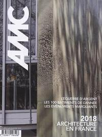 AMC, le moniteur architecture. n° 274, 2018