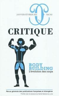 Critique. n° 764-765, Bodybuilding : l'évolution des corps