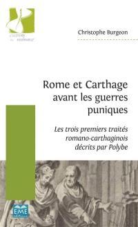 Rome et Carthage avant les guerres puniques