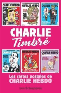 Charlie timbré : les cartes postales de Charlie Hebdo