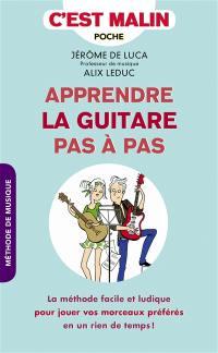 Apprendre la guitare pas à pas