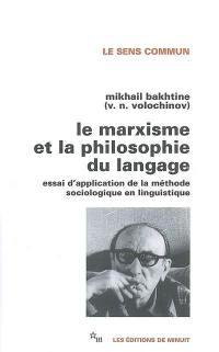 Le marxisme et la philosophie du langage
