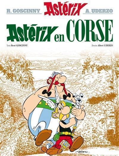 Une aventure d'Astérix. Volume 20, Astérix en Corse