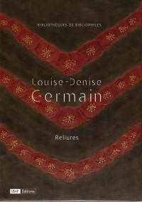 Louise-Denise Germain : reliures