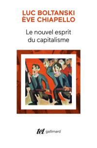 Le nouvel esprit du capitalisme
