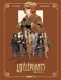 40 éléphants. Volume 1, Florrie, doigts de fée