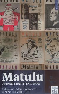 Matulu : journal rebelle (1971-1974)