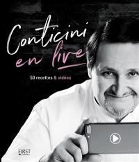 Conticini en live : 50 recettes & vidéos