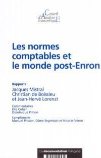 Les normes comptables et le monde post-Enron