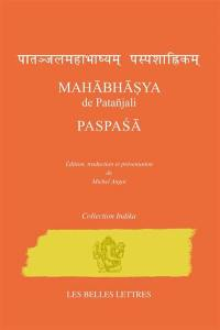 Mahabhasya de Patanjali; Paspasa