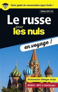 Le russe pour les nuls en voyage !