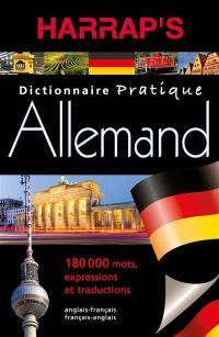 Harrap's allemand : dictionnaire pratique : allemand-français, français-allemand