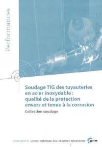 Soudage TIG des tuyauteries en acier inoxydable