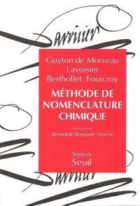 Méthode de nomenclature chimique