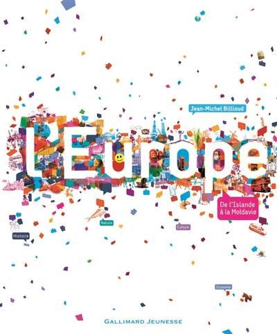 L'Europe : de l'Islande à la Moldavie