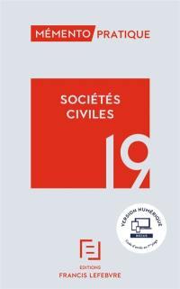 Sociétés civiles 2019