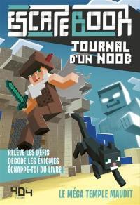 Escape book Journal d'un noob, Le méga temple maudit