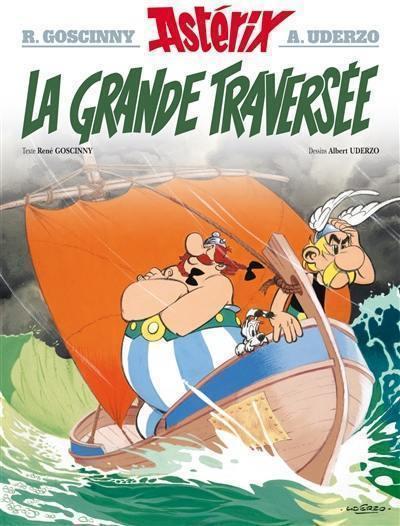 Une aventure d'Astérix. Volume 22, La grande traversée