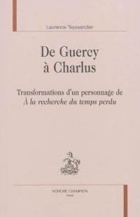 De Guercy à Charlus