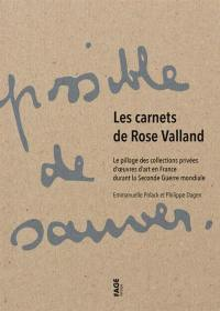 Les carnets de Rose Valland