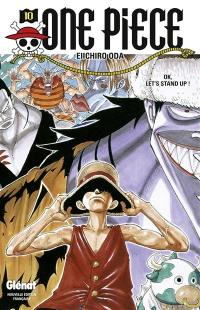 One Piece. Volume 10, OK, let's stand up !