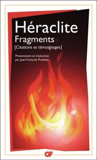 Fragments : citations et témoignages