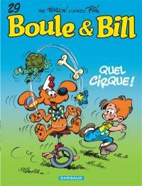 Boule et Bill. Volume 29, Quel cirque !