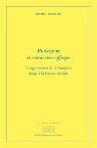 Municipium et civitas sine suffragio