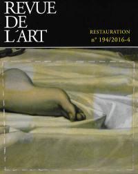 Revue de l'art. n° 194, Restauration