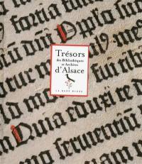 Trésors des bibliothèques et archives d'Alsace