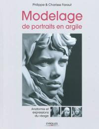 Modelage de portraits en argile, Anatomie et expressions du visage