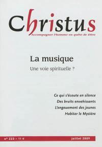 Christus. n° 223, La musique