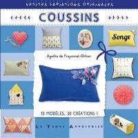Coussins : 10 modèles, 30 créations !
