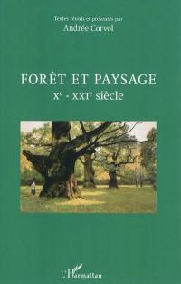 Forêt et paysage, Xe-XXIe siècle