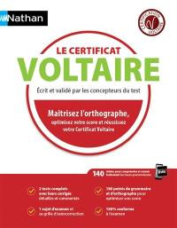 Le certificat Voltaire