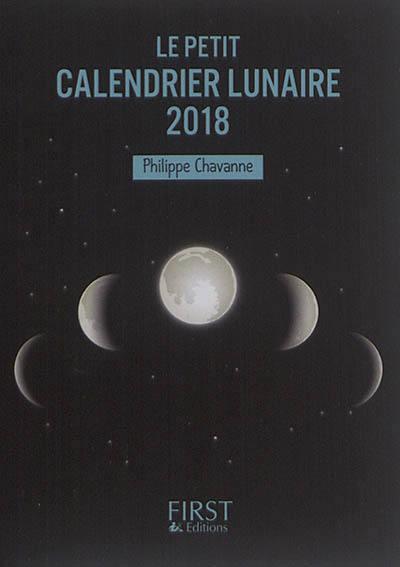 Le petit calendrier lunaire 2018